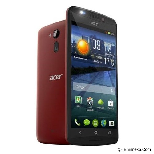 ACER Liquid E700 Triple SIM - Burgundy Red - Smart Phone Android